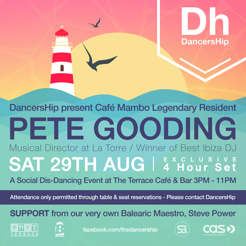 Cafe Mambo Resident Pete Gooding